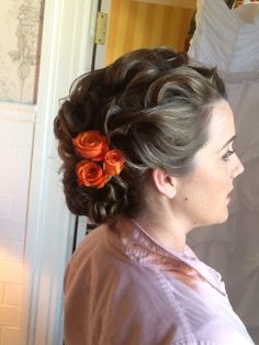 One of my clients, hair style by me