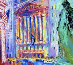 New York Stock Exchange | LeRoy Neiman #leroyneiman