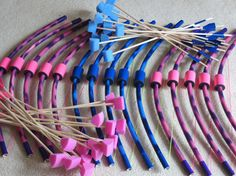 15 Small Bows and Arrows 1 Quiver set girl & boy by PlaySafeToys