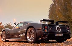 Mr Horacio Pagani takes Xcar for a spin in his very own 14 year old Pagani Zonda S 7.3. Watch it here... #carporn
