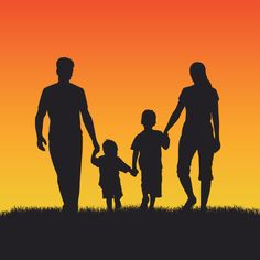 Discover the best free resources of Family Silhouette Tattoos, Silhouette Family, Silhouette Vector, Mother Tattoos For Children, Tattoos Familie, Adoption Stories, Tattoo Project, Beach Portraits, Family Tattoos