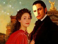 Let the dream begin!!! Christine and Erik ♡