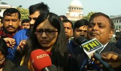 """☼►  Nirbhaya Case: High Court & Apex Court Reject◄☼  On 21 December, the Supreme Court dismissed a plea of Delhi Commission for Women (DCW) Chairperson Swati Maliwal against the release of the juvenile offender in the December 16 gang rape case. A vacation bench comprising justices A.K. Goel and U.U. Lalit said, """"there has to be a clear legislative sanction"""" in this regard. If anything has to be done, it has to be done according to the law. We have to enforce the law."""""""