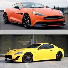 Aston Martin Virage or Maserati Granturismo S?