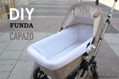 DIY, patrones, ropa de bebe y mucho más para coser.: DIY Patrones de funda para capazo