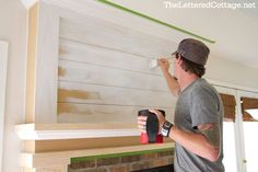 covering the tv niche? | The Lettered Cottage