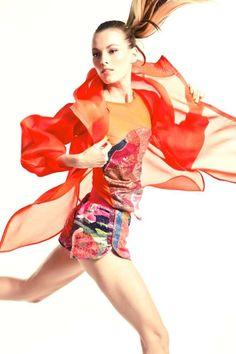 "Chic Sequined Sportswear The House of Laurel SS 2012 Collection Boasts Haute ""Athletenique"" Wear"