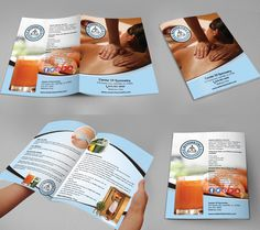 Design the brochure for my wellness club. by Sumaiya