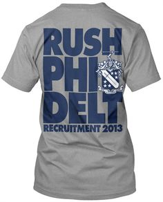 2722 Phi Delta Theta Rush T-shirt - MetroGreek