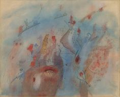 Wols, Untitled (Comp. aux personnage), 1940, Setareh Gallery
