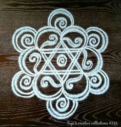 Explore latest easy rangoli design image ideas collection for Diwali. Here are amazing simple rangoli designs to decorate your home this festive season. Indian Rangoli Designs, Rangoli Designs Latest, Latest Rangoli, Rangoli Designs Images, Rangoli Designs With Dots, Beautiful Rangoli Designs, Mehandi Designs, Rangoli Patterns, Rangoli Ideas