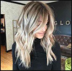 Total attraktive blonde lange Frisuren. | Einfache Frisuren
