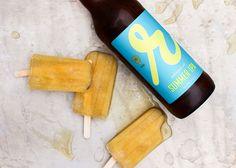 Loves Food, Loves to Eat// Vanilla Pineapple IPA Popsicles   #POPSICLEWEEK