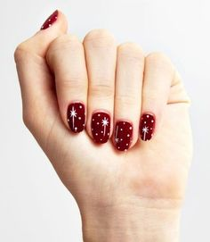 The Best Christmas Nails - Designs, Ideas, & How To Get The Look