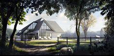 Craftelement infographie pour créateurs d'espaces | Maison LP exte Architecture, Images, Heaven, Earth, Cabin, House Styles, Gallery, Behance, Home Decor