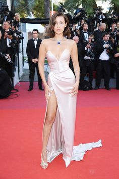 Bella Hadid at Cannes Film Festival.