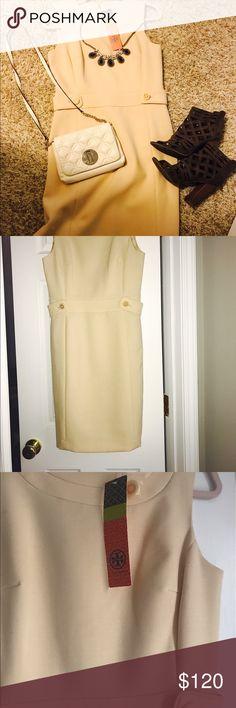 Tory Butch NWT Size 6 Ivory Dress NWT Tory Butch Ivory Knee Length Dress. Size 6. Never worn. Full description: Tory Burch 'Melanie' dress antique ivory 38121474. Tory Burch Dresses Strapless