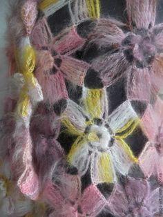 Ideas para el hogar: Chal de flores