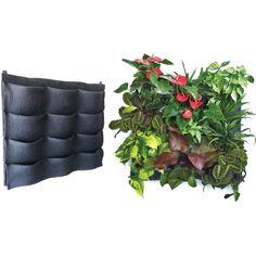 Florafelt 12-Pocket Vertical Garden Planter — Florafelt Vertical Garden Systems