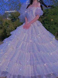 Pretty Outfits, Pretty Dresses, Beautiful Dresses, Fairytale Dress, Fairy Dress, Quince Dresses, Ball Dresses, Pretty Quinceanera Dresses, Wedding Dresses