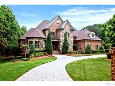 Check out this Listing in 27607! City estate on 1  acre. Elegant foyer w/curved staircase. Breathtaking ......