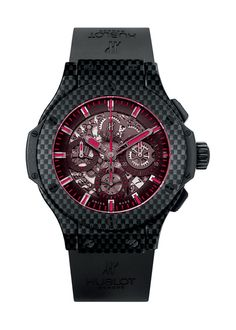 Aero Bang Red Magic Carbon 44mm Chronograph watch from Hublot