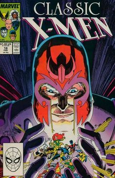 Marvel Comics of the 1980s: 1987 - Anatomy of a cover - Classic X-Men #18
