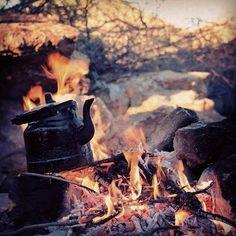#tea #fire #wood