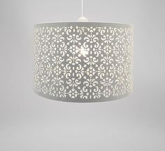 Tesco direct: Country Club Easy Fit 29cm Moroccan Ceiling Light Shade, White