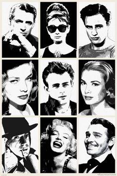Hollywood Legends Poster