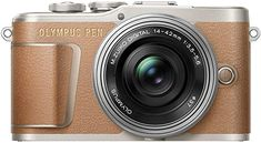 Shop Olympus PEN Mirrorless Camera with Lens Honey Brown at Best Buy. Find low everyday prices and buy online for delivery or in-store pick-up. Wi Fi, Monitor, Video 4k, Little Camera, Cracked Screen, Honey Brown, Camera Reviews, Photography Camera, Zoom Lens