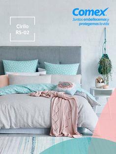 Nuestro color #Cirilo será un gran aliado a la hora de comenzar tu proyecto de decoración y lograr un espacio acogedor. #Cirilo #ComexPinturerías #Decoración