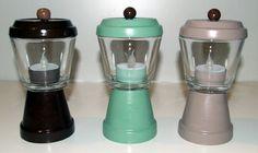 Mini Pot Tea Light Holders!