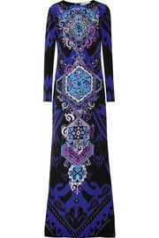Emilio PucciPrinted silk-jersey gown