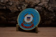 Coast Guard Retired Challenge Coin