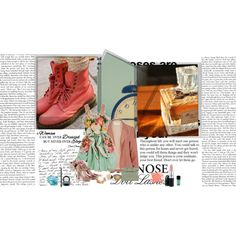 Vintage, created by brightlightsbiggercity on Polyvore