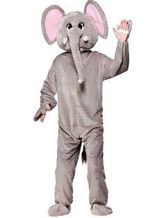 paradise Elephant Mascot Costume