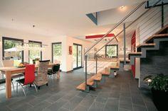 fertighaus.net - Wohnideen - Küche und Essplatz FINO 400