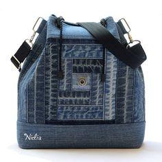 Nielia - сумки из джинсов (часть3) / Переделка джинсов / ВТОРАЯ УЛИЦА