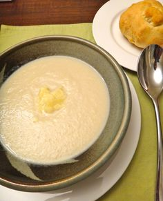 Creamy Cauliflower Soup with Mustard and Parmesan | Eynesbury Farmers Market