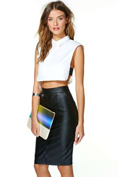 Spaces Crop Top