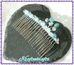 Check out this item in my Etsy shop https://www.etsy.com/uk/listing/232876109/crystal-decorative-hair-comb-for