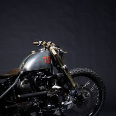 BONESHAKER 79  £25,000.00  Built by Boneshaker Choppers and fashioned by Buster + Punch.