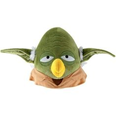 "Angry Birds Star Wars Bird Yoda 12"" Plush with Sound >>> Want to know more, click on the image. (This is an affiliate link) #PlushFigures"