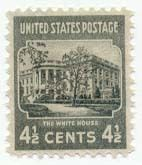 1938 4 1/2c White House Scott 809 Mint F/VF NH  www.saratogatrading.com