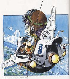 Dr. Slump Comic Vol.8 Cover Illustration