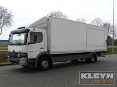 Truck MERCEDES-BENZ Closed box ATEGO 1223