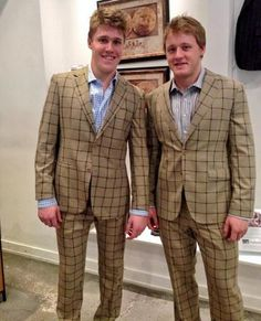 Jake Gardiner & Morgan Rielly • Toronto Maple Leafs • This makes up for the fact that the Leafs aren't making the playoffs. • No, it doesn't. It really, really doesn't.