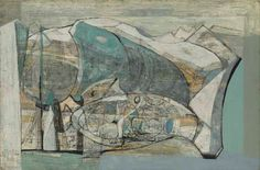 Grindelwald Glacier by Wilhelmina Barns-Graham Abstract Expressionism, Abstract Art, Modern Art, Contemporary Art, Landscape Art, Winter Landscape, Art Uk, Patterns In Nature, Your Paintings