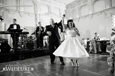 WedLuxe: father and daughter dance captured by Jasalyn Thorne Photography
